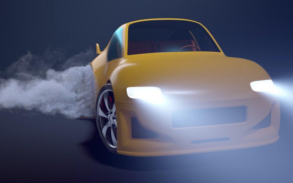 Cartoon Car Animation