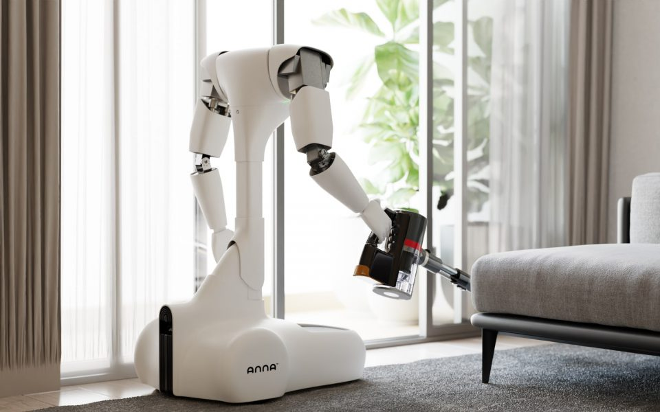 Robot Anna 3d animation